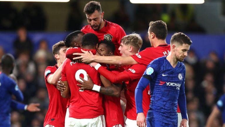 Man Utd were 2-0 winners at Stamford Bridge, but need to go on a run to make the Champions League, according to Gary Neville