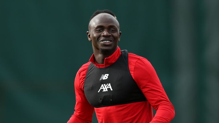 Sadio Mane is back in contention for Liverpool