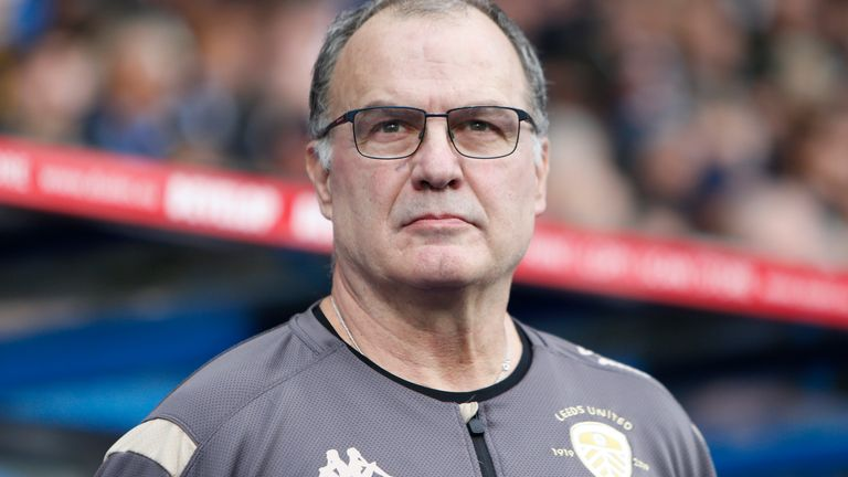 Marcelo Bielsa will be aiming to end a spell of poor form for Leeds in 2020, at Griffin Park on Tuesday