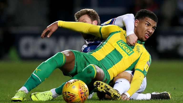 Holgate's physicality and athleticism helped him excel at West Brom