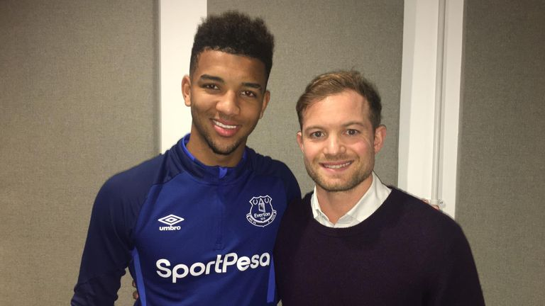 Holgate was speaking to Sky Sports' Ben Grounds at Finch Farm