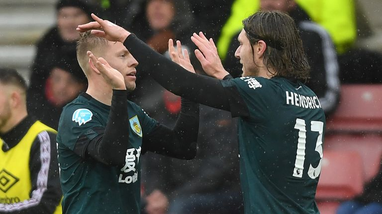 Hendrick has held initial talks with Burnley over a new contract