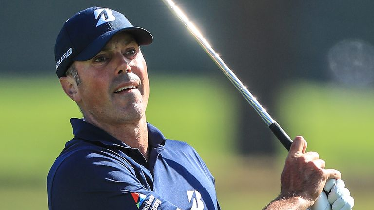 Kuchar is chasing a wire-to-wire victory in California