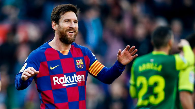 Lionel Messi ends four-game goal drought with four-goal haul in Eibar rout