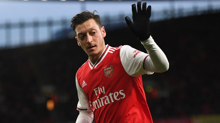 Ozil has been at Arsenal since joining from Real Madrid in 2013
