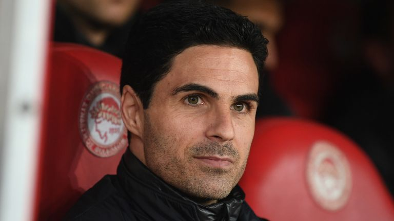 Mikel Arteta has lost just one of his 11 games in charge of Arsenal