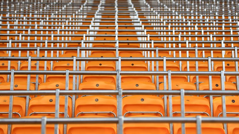 Wolves have also added barriers to some seated areas of Molineux
