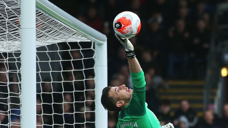 Newcastle goalkeeper Martin Dubravka has pulled off some fine saves