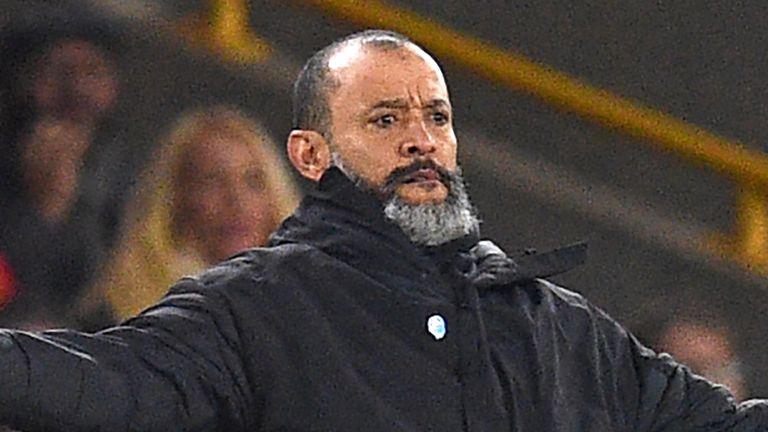 Nuno Espirito Santo is one of just five BAME coaches in England's top four leagues