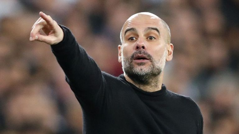 Guardiola is confident Man City will play Champions League football next season