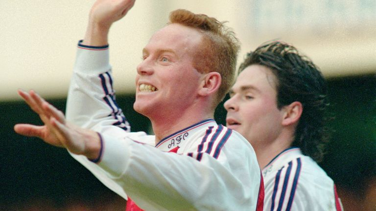 Perry Groves made 155 league appearances for Arsenal between 1986 and 1992