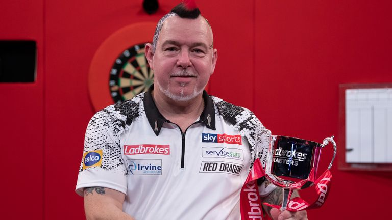 Peter Wright will be defending his Masters title in Milton Keynes
