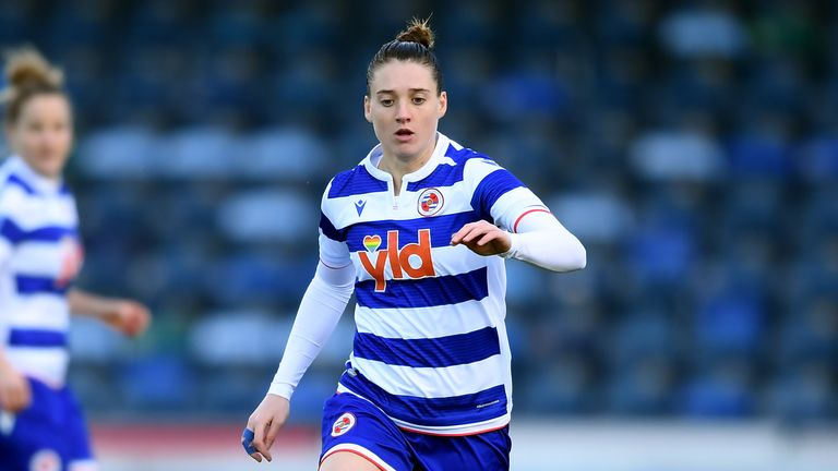 Jade Moore was on target for Reading