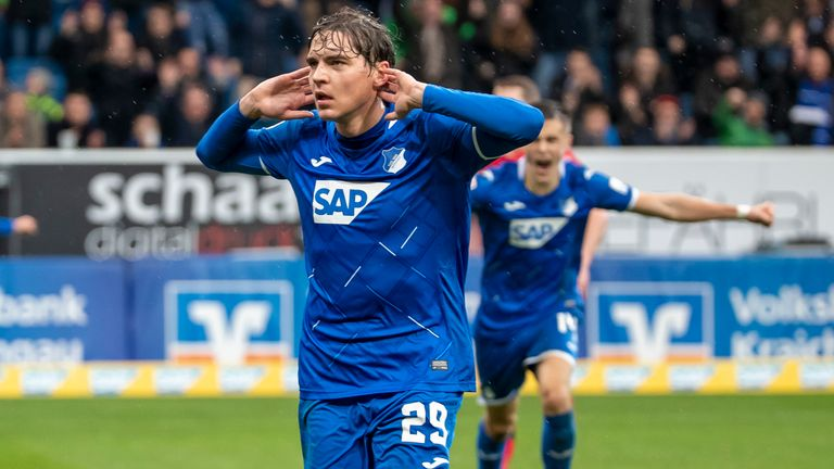 Robert Skov has been a success at Hoffenheim after being sold for £9m