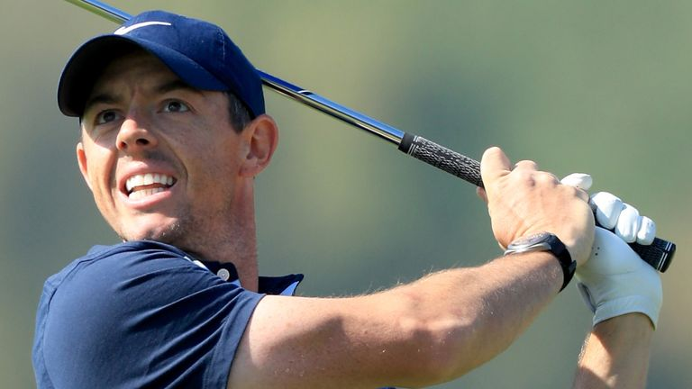 McIlroy finished as part of a five-way tie for fifth spot