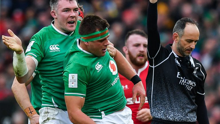CJ Stander was Ireland's turnover king