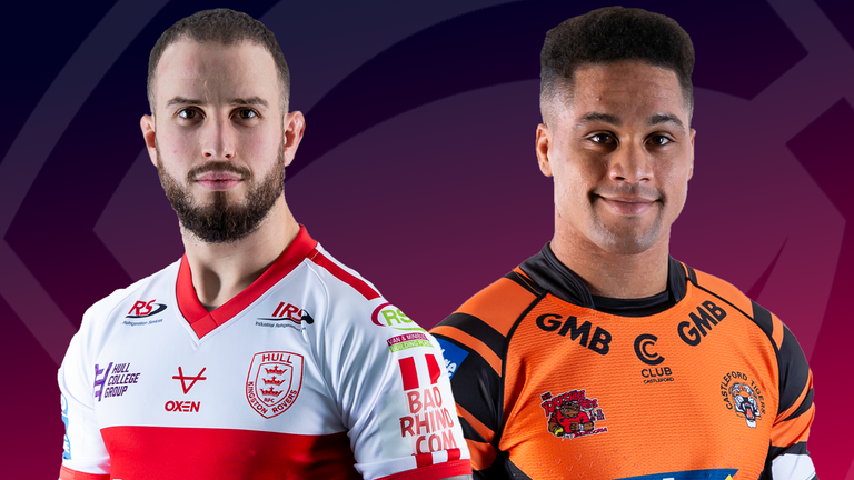 Hull KR  and Castleford Tigers face off in Thursday's live Super League clash