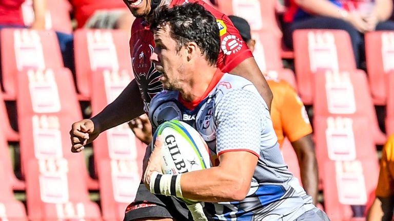 Ruhan Nel scored the winning try for the Stormers