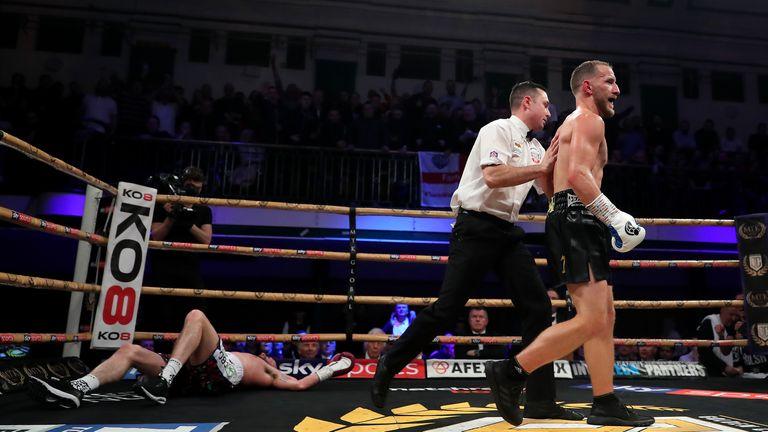 Ryan Walsh drops Tyrone McCullagh