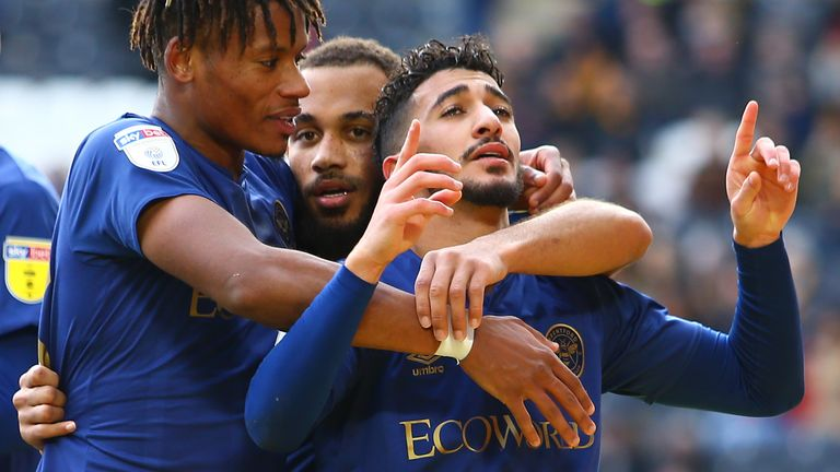 Said Benrahma has been a star for the Bees this season in the 'BMW' forward line with Ollie Watkins and Bryan Mbuemo