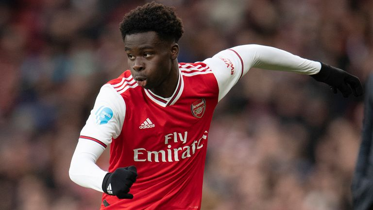 Bukayo Saka gets the nod from one of the Sky Sports writers