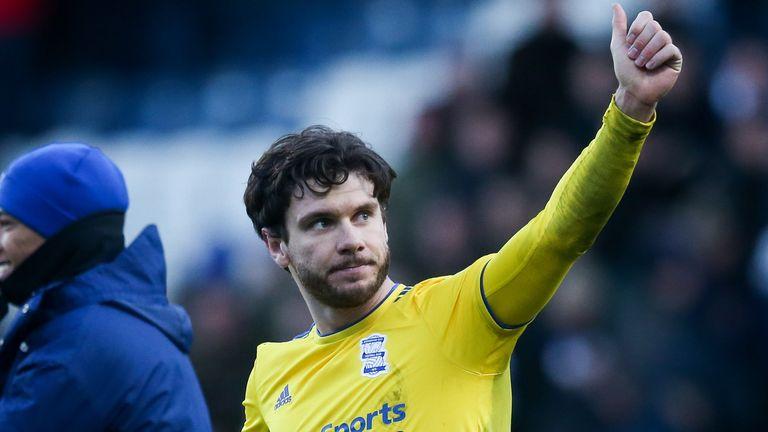 Hogan has scored seven goals for Birmingham since a January loan move from cross-city rivals Aston Villa