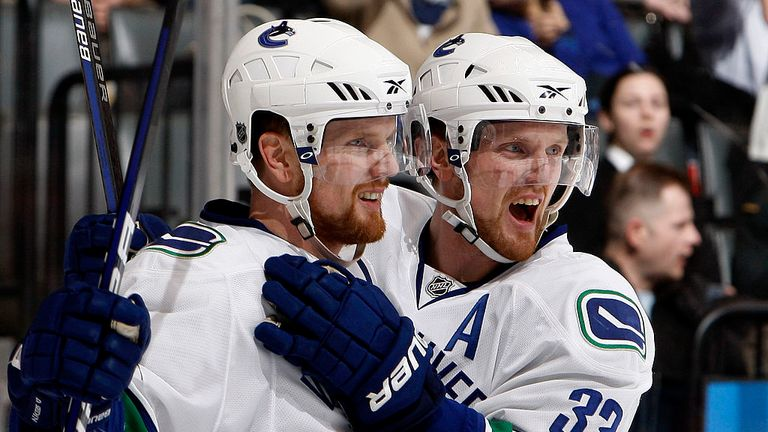 The Sedin twins spent their entire NHL careers at Vancouver