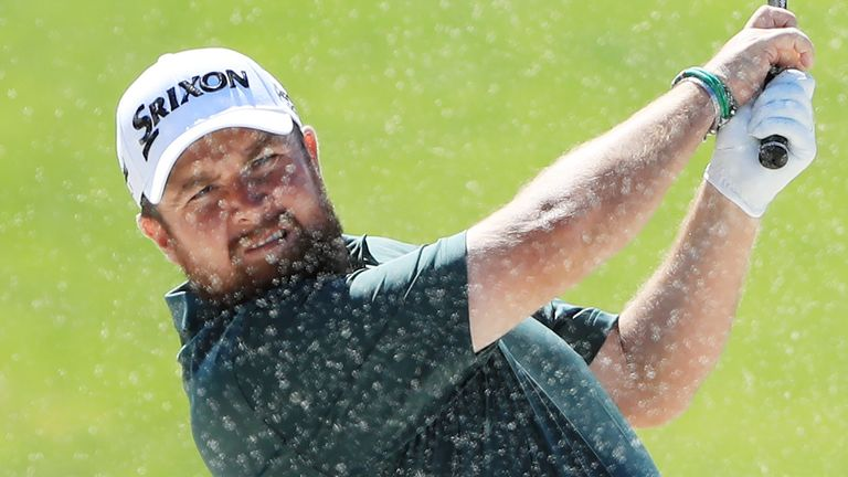 Shane Lowry was three under after four before settling for a 69
