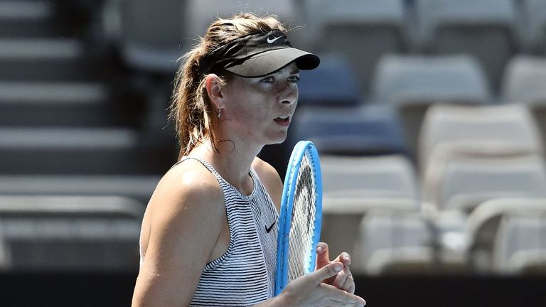 Maria Sharapova has struggled with chronic shoulder problems and has slumped to 373 in the rankings