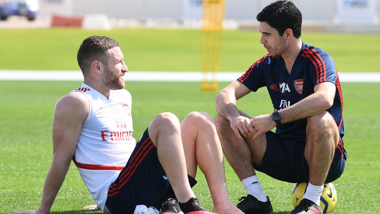 Shkodran Mustafi feels like he has had a resurgence at Arsenal since the arrival of Mikel Arteta