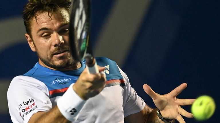 Stan Wawrinka fired 35 aces in a late-night thriller