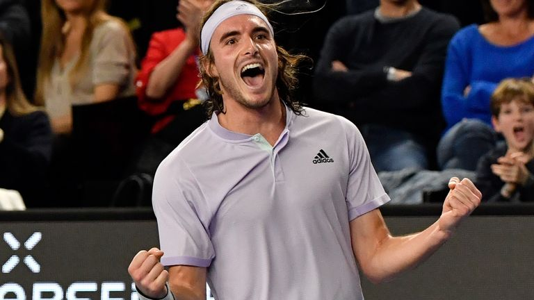 ATP Tour winner Stefanos Tsitsipas is part of the new generation of tennis