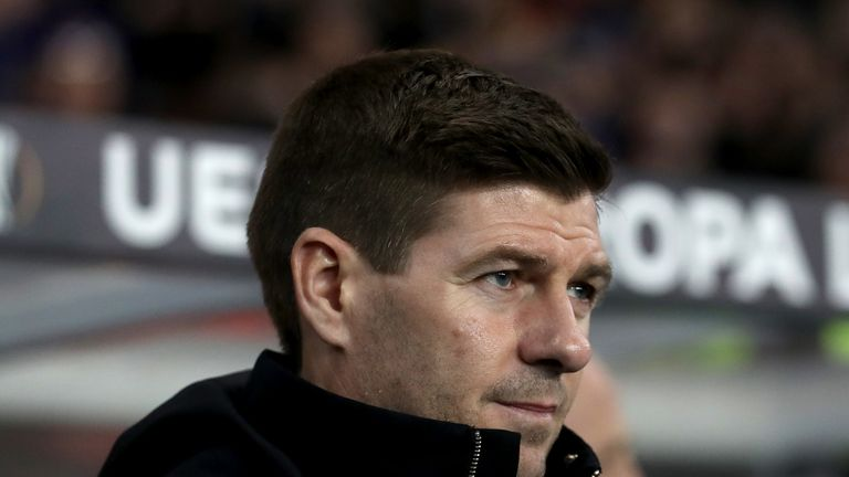 Steven Gerrard says Rangers will set out to cause Braga problems