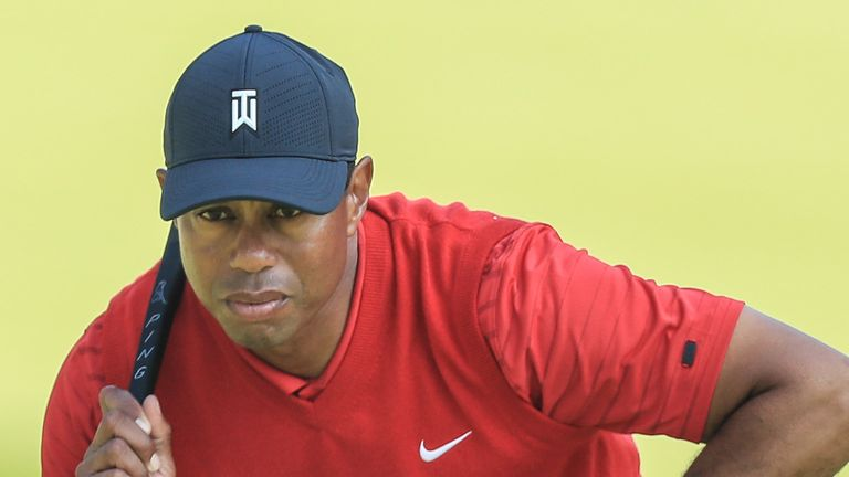 Woods claimed a 15th major title at the Masters last year, his first since 2008