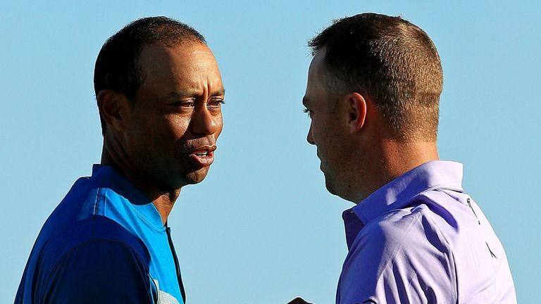 Tiger Woods and Justin Thomas will play alongside Steve Stricker for the first two rounds in California
