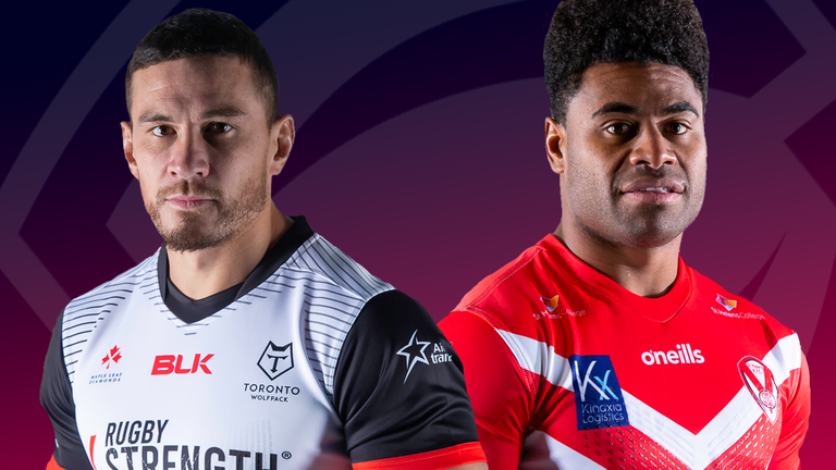 Newcomers Toronto take on champions St Helens in Saturday's live Super League game
