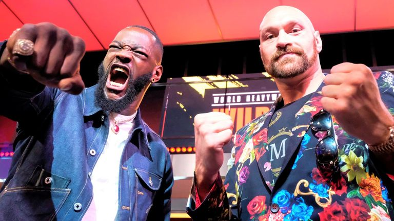 Tyson Fury faces Deontay Wilder in a Las Vegas rematch next weekend