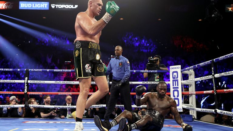 Wilder wants the opportunity to avenge his first professional loss