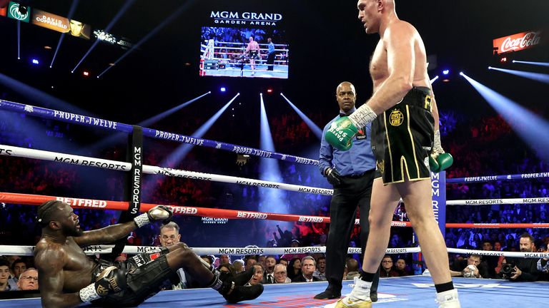 Fury overpowered Wilder in Las Vegas