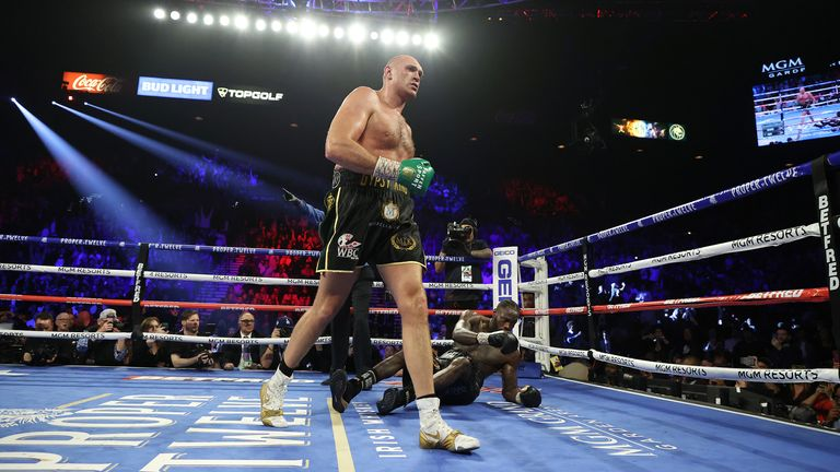 Deontay Wilder vows to regain title after Tyson Fury defeat