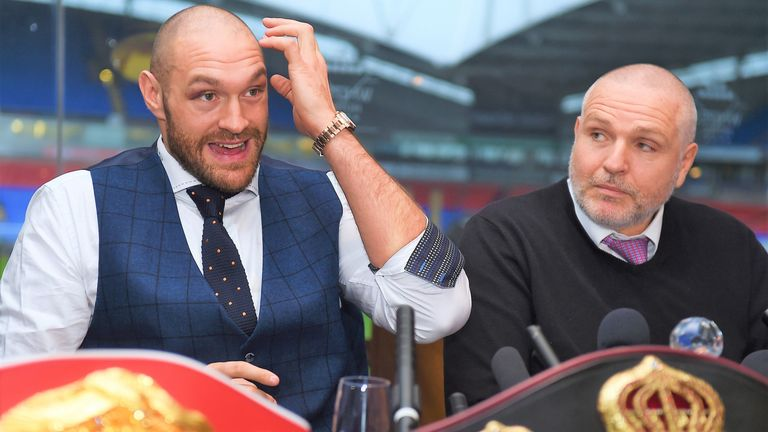 Peter Fury guided Tyson Fury to his world title triumph over Wladimir Klitschko