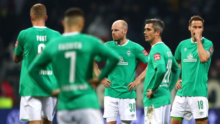 Werder Bremen have lost eight of their last 10 Bundesliga matches