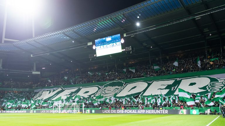 Werder Bremen supporters have continued to back their team this season