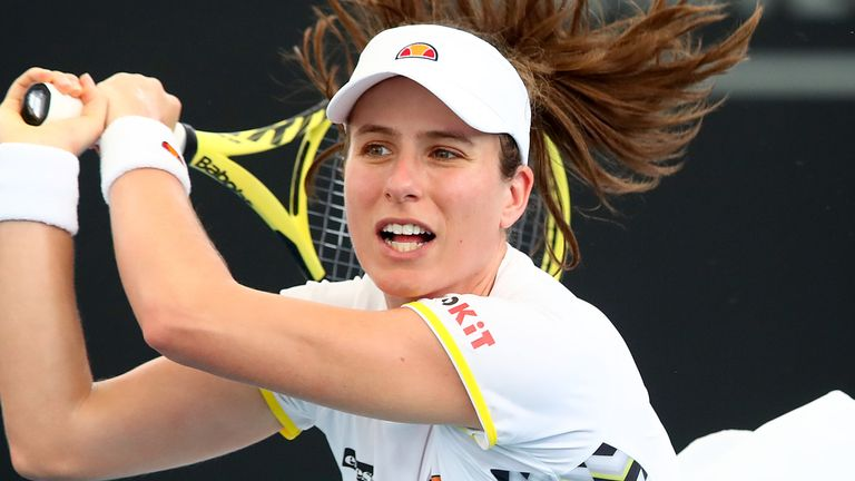 US Open Tennis Johanna Konta