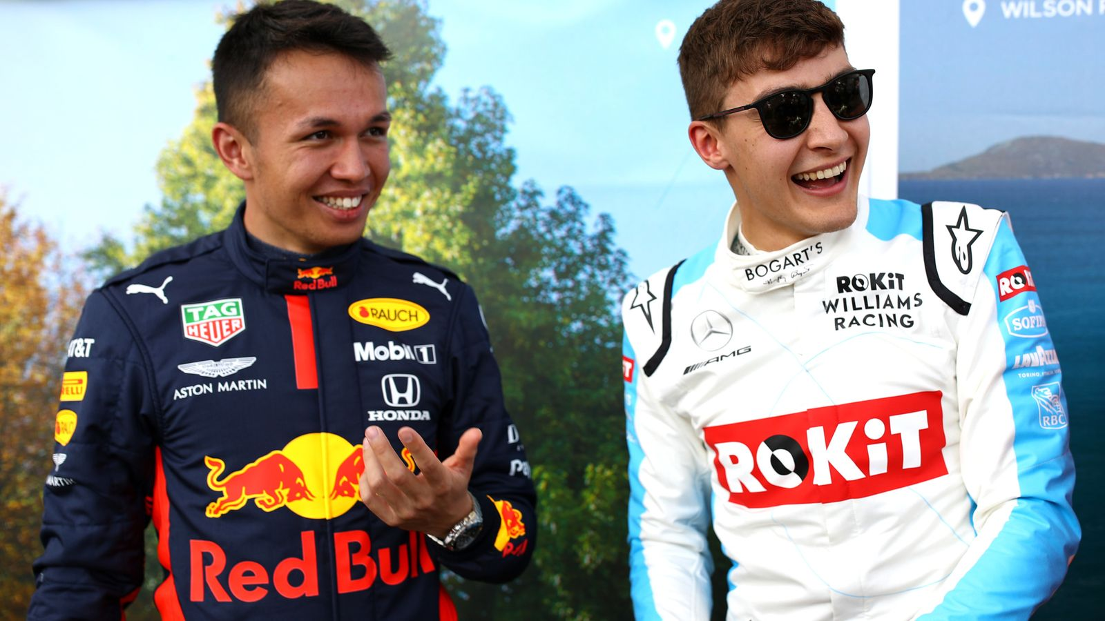 Russell beats Albon to seal virtual F1 hat-trick thumbnail