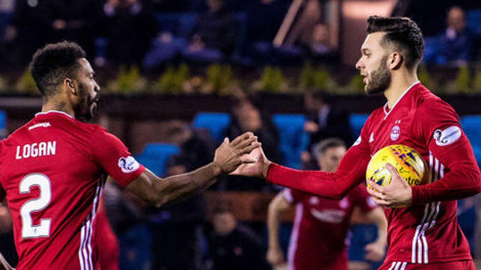 Scottish Premiership round-up: Aberdeen fight back to draw with Kilmarnock   Football News