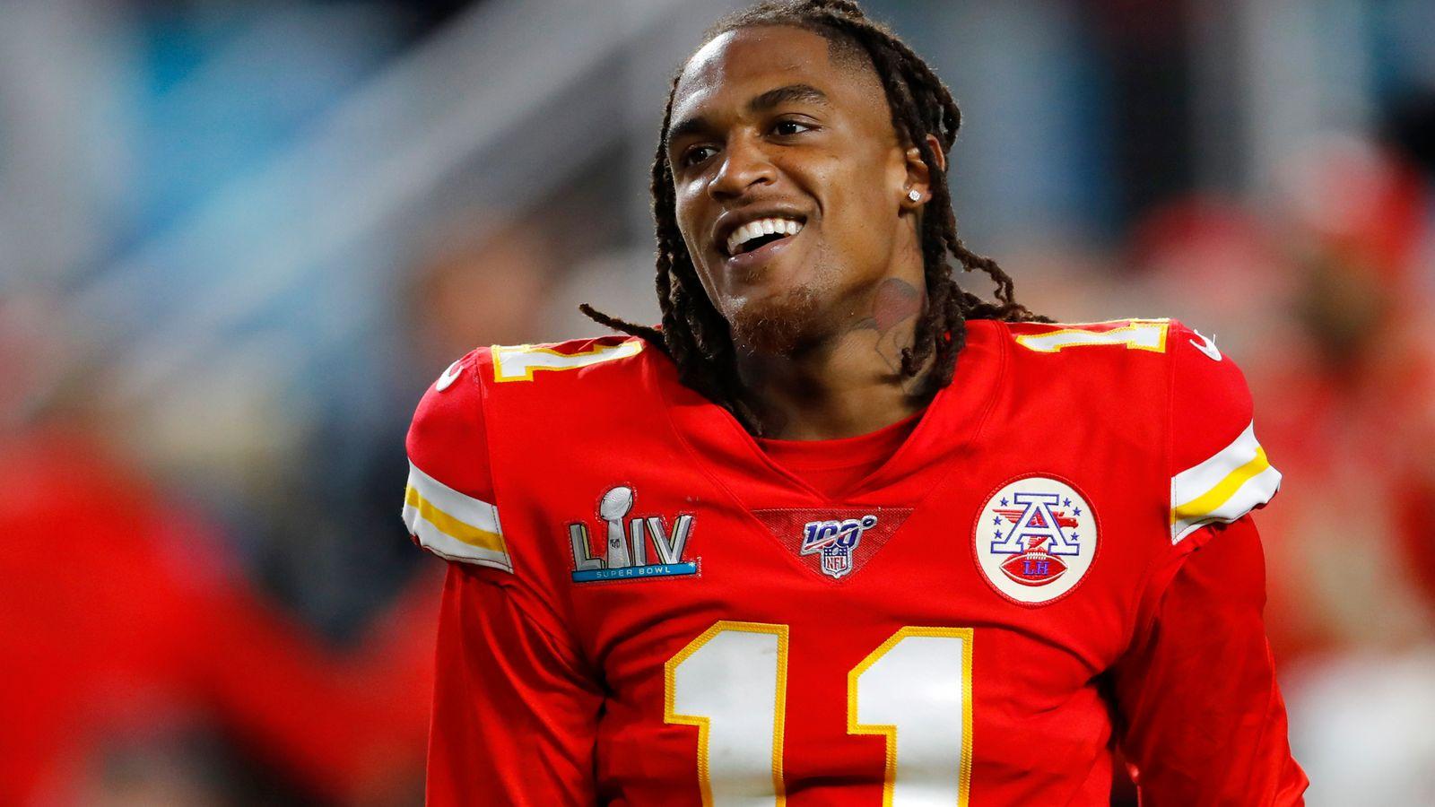 Demarcus Robinson de los Jefes de Kansas City extiende contrato, según informes | Noticias de la NFL 15