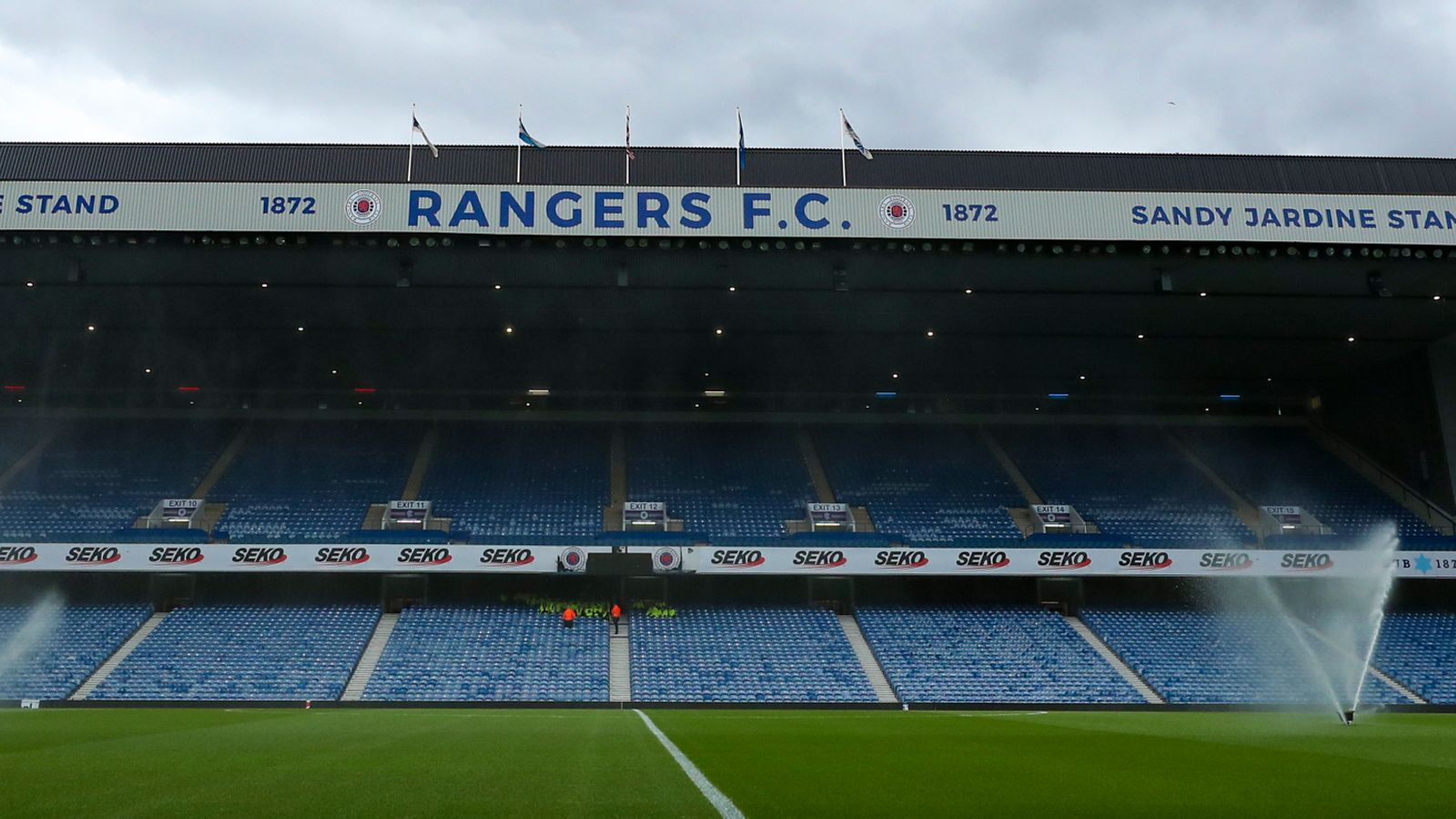 Coronavirus: Rangers 'listos y dispuestos' para dejar que el NHS use Ibrox | Noticias de futbol 50