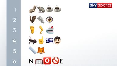 Emoji Quiz: Name that player!