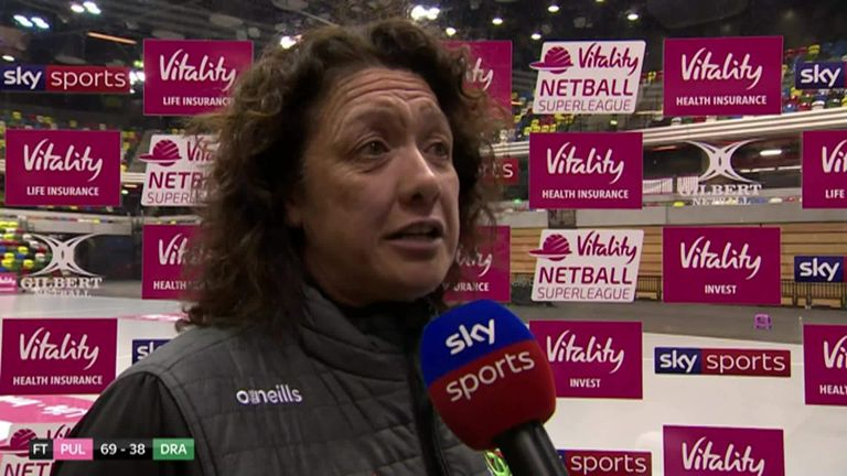 Dragons Head Coach Tania Hoffman says her team need to fight hard to get their first win of the season after a heavy defeat in London.